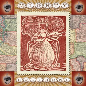 Mighty Squirrel CD Graphics