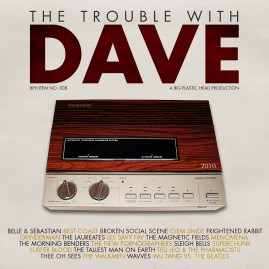 The Trouble With Dave CD Graphics